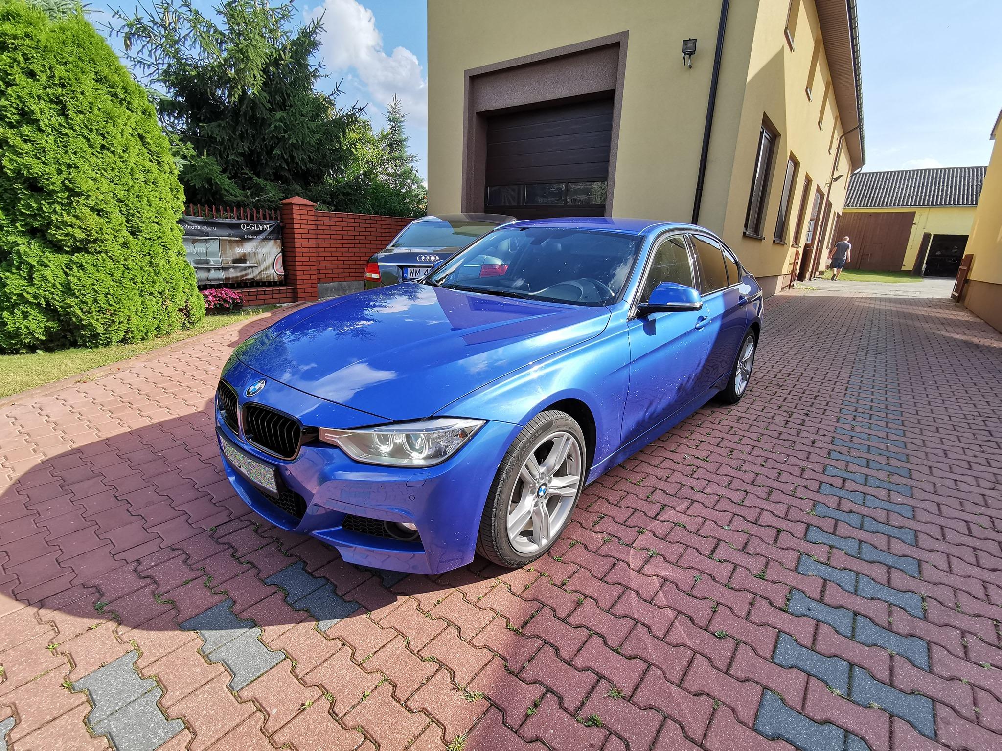 BMW F30 320D 184KM >> 215KM 468Nm