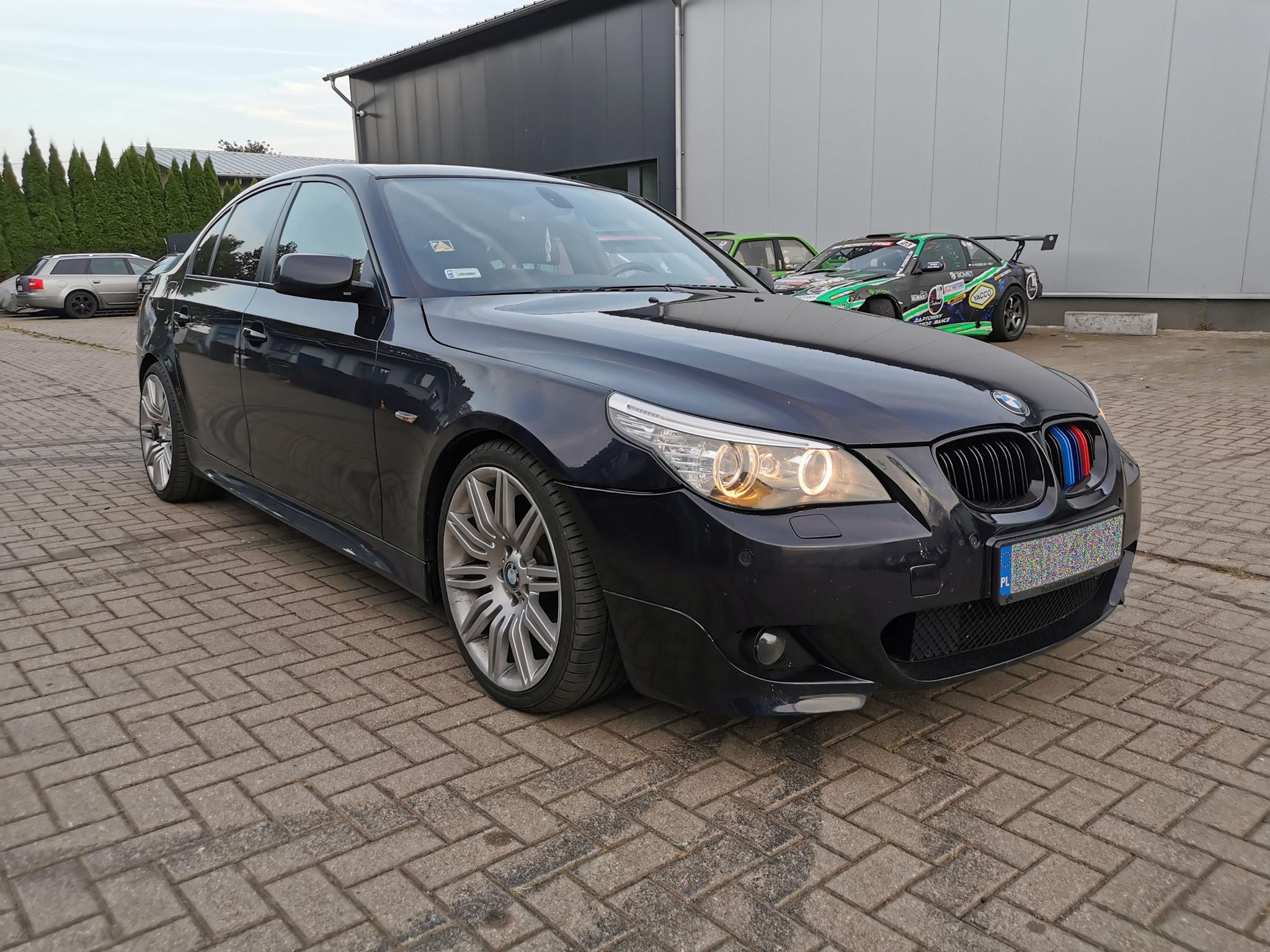 BMW E60 535D 272KM >> 364KM 731Nm