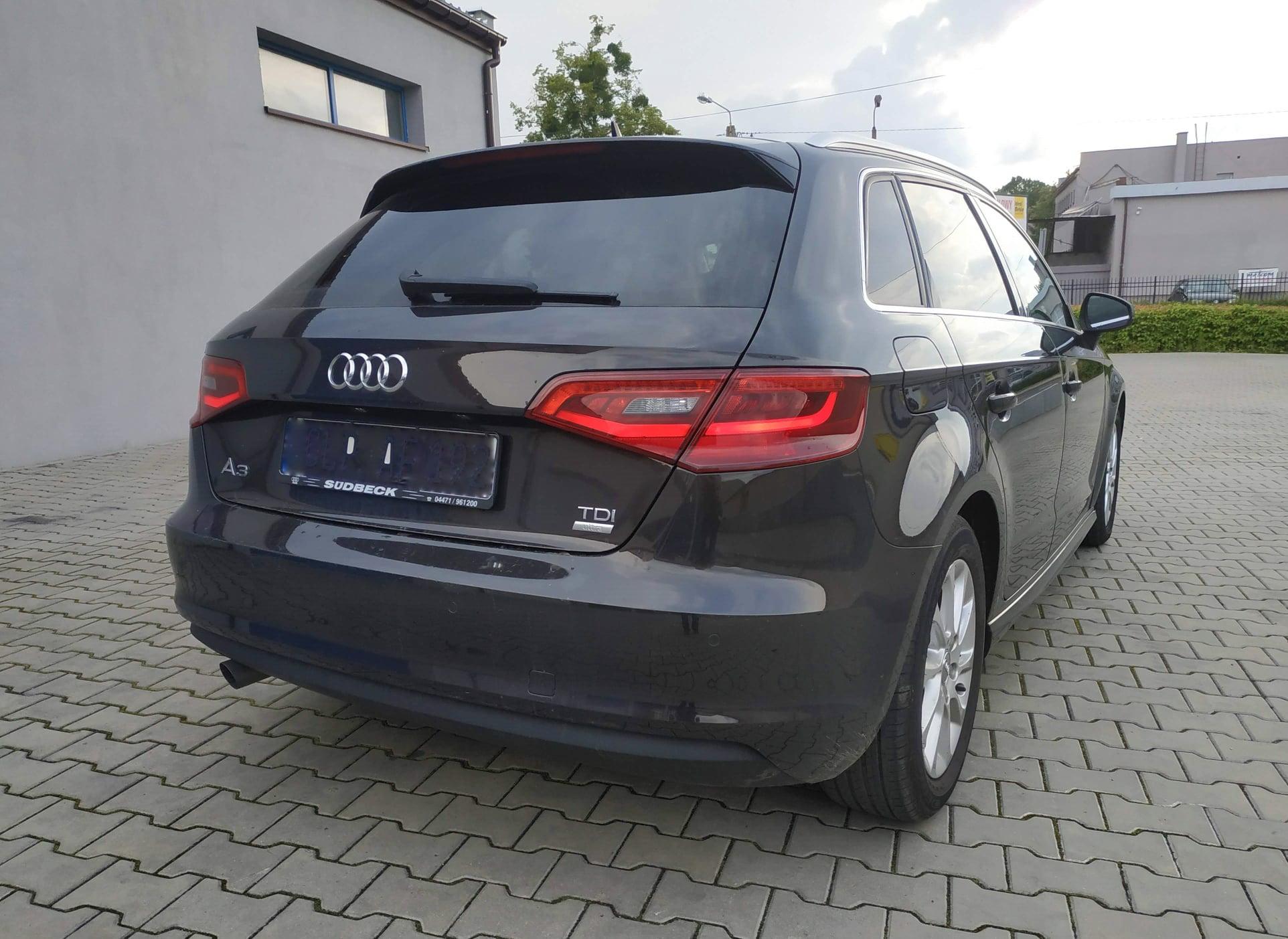 Audi A3 8V 1.6TDI CRKB 110KM >> 146KM 323Nm
