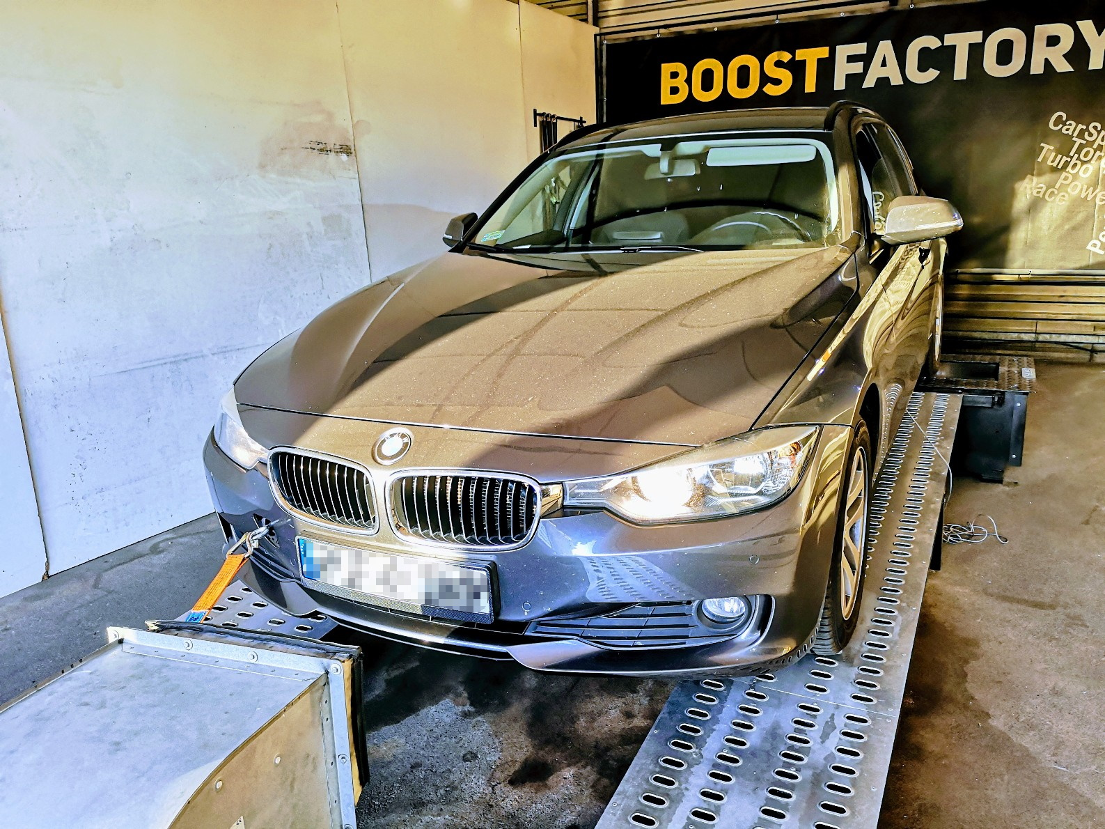 BMW F31 318D 143KM >> 184KM 393Nm