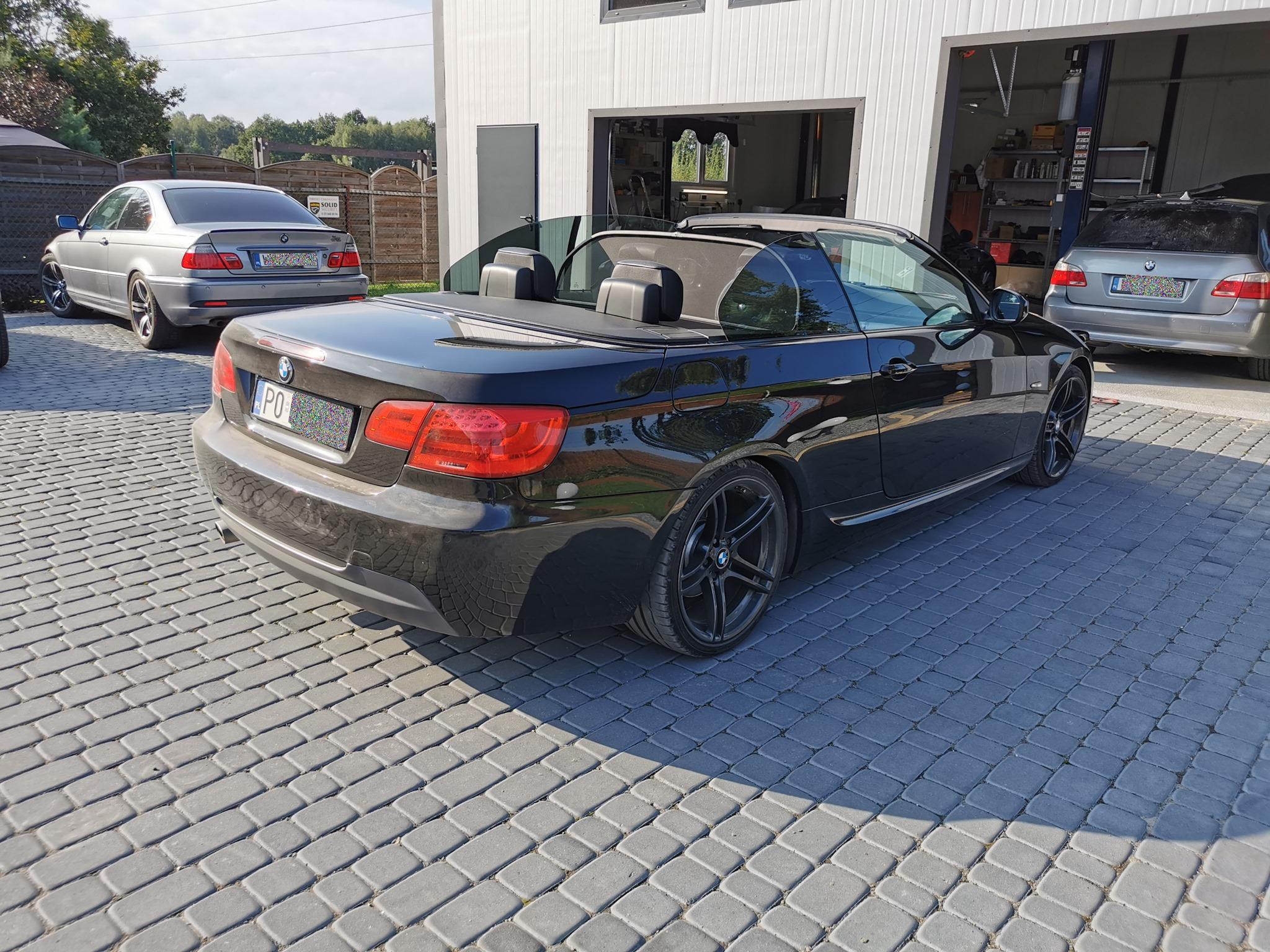 BMW E93 320D 184KM >> 221KM 481Nm