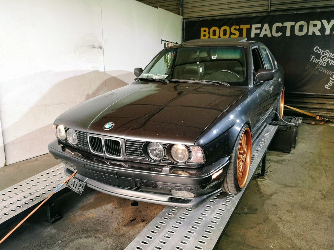 BMW E34 525i 192KM >> 197KM 248Nm