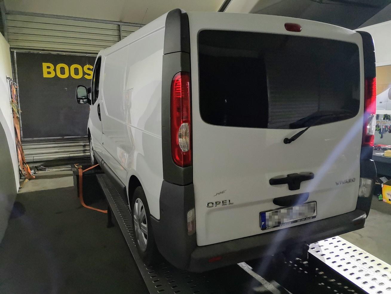 Opel Vivaro2.0CDTi 90KM >> 150KM 340Nm