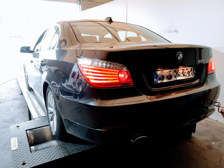 BMW E60 520D N47 163KM >> 223KM 438Nm