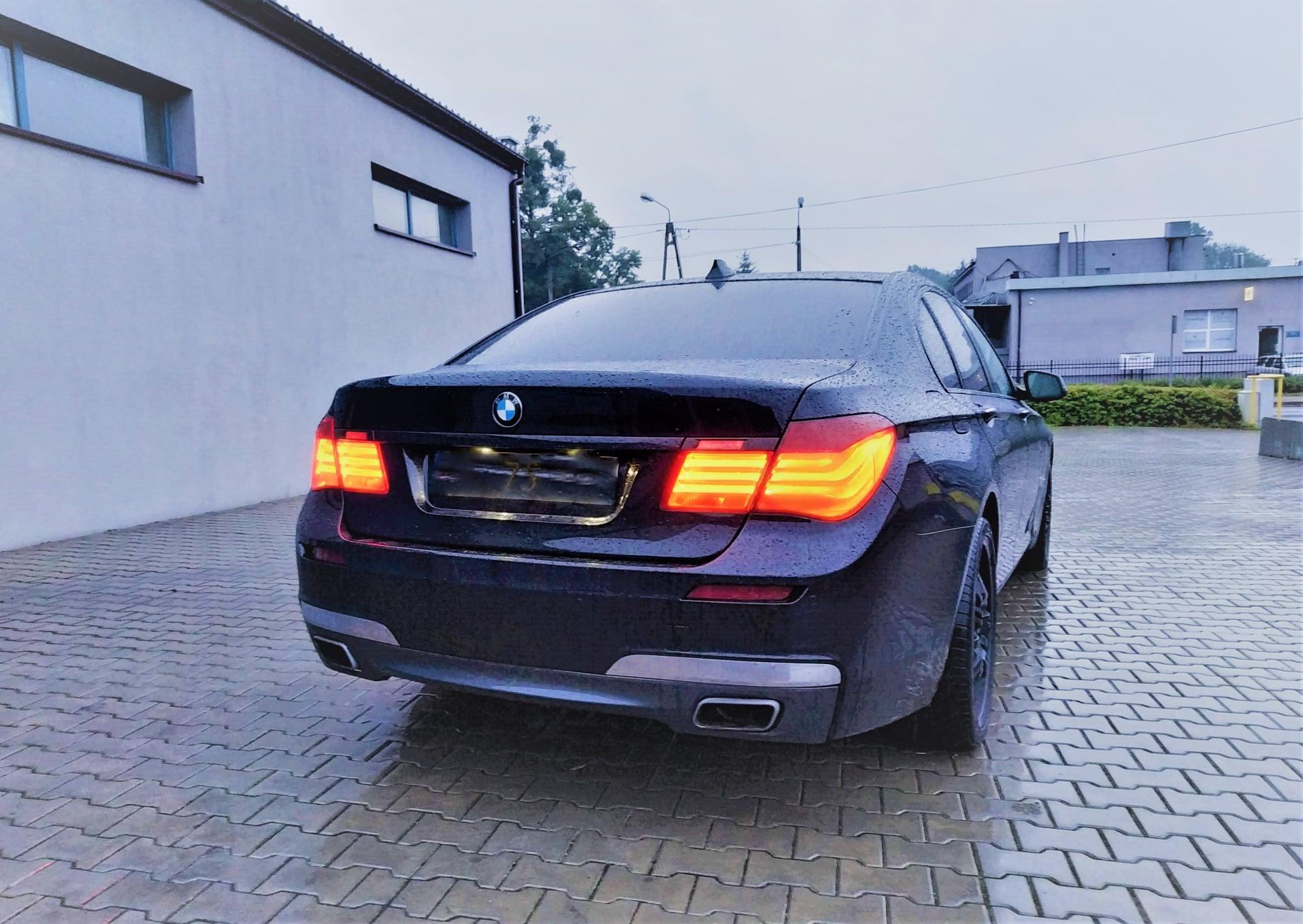 BMW F01 730D 245KM >> 321KM 653Nm