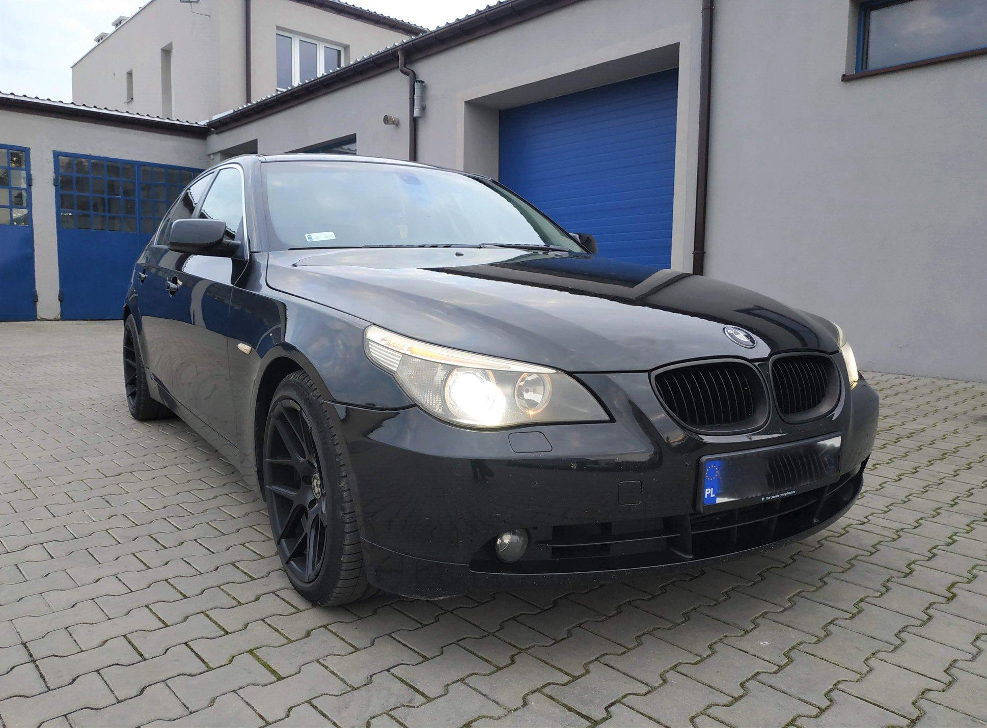 BMW E60 530D 218KM >> 273KM 643Nm