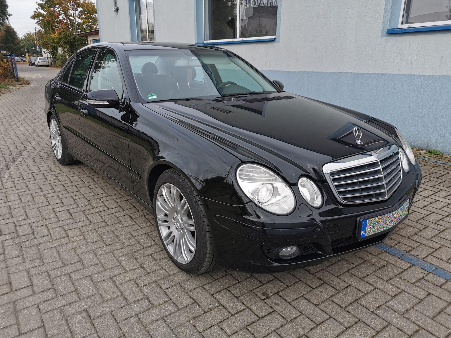 Mercedes W211 E280 CDI 190KM >> 237KM 526Nm