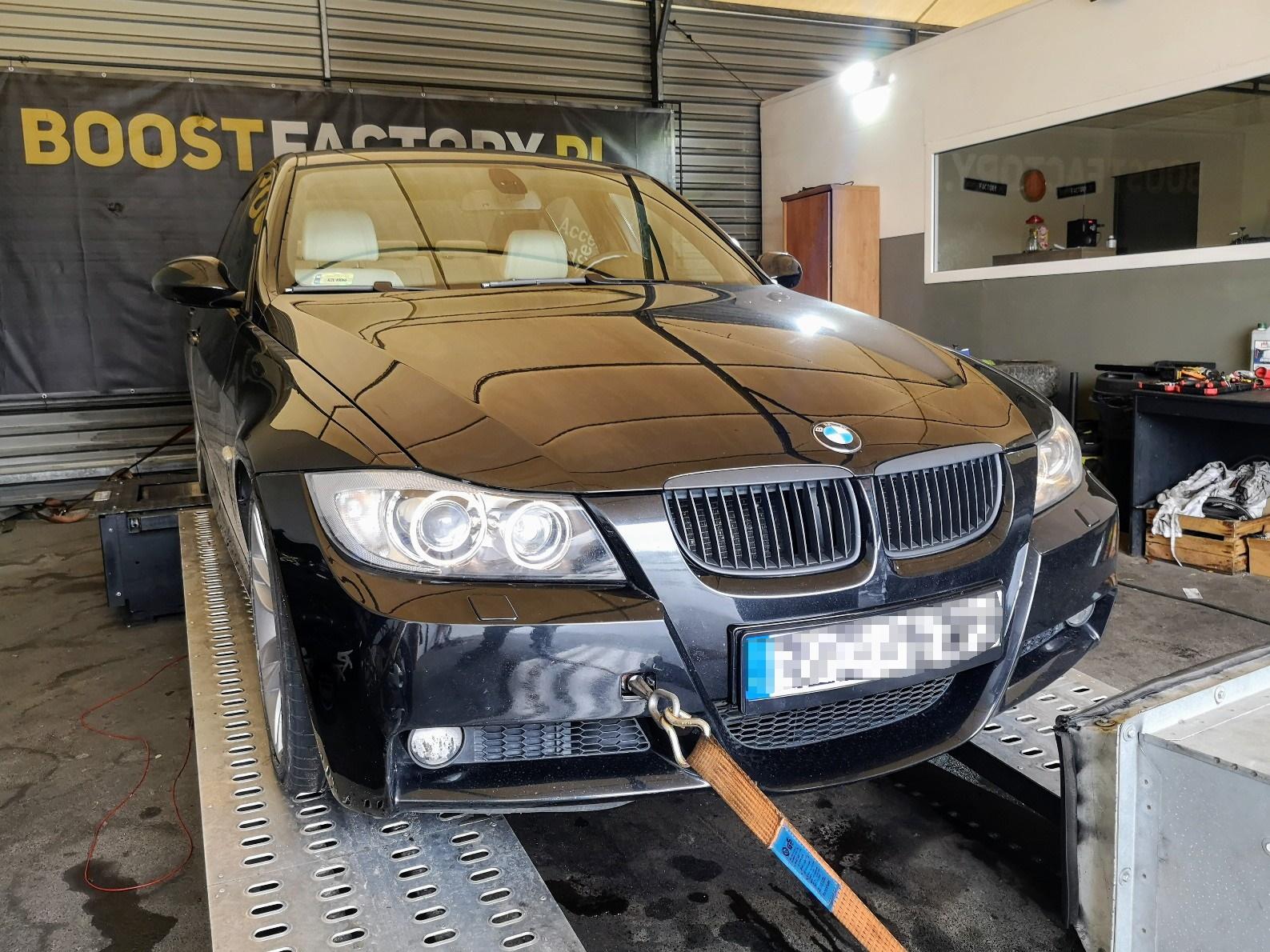 BMW E90 320D 163KM >> 208KM 427Nm