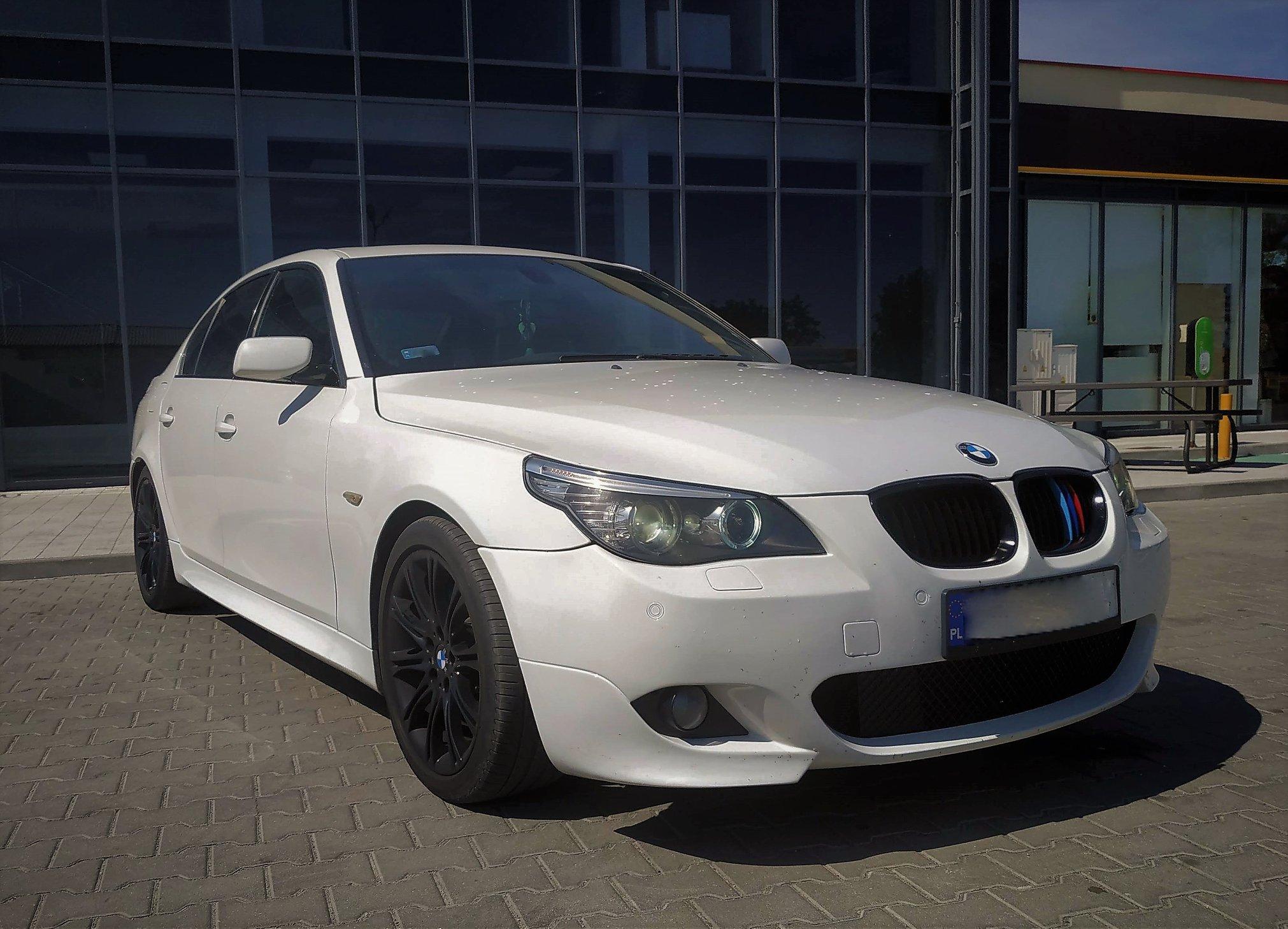 BMW E60 535D 286KM >> 363KM 716Nm
