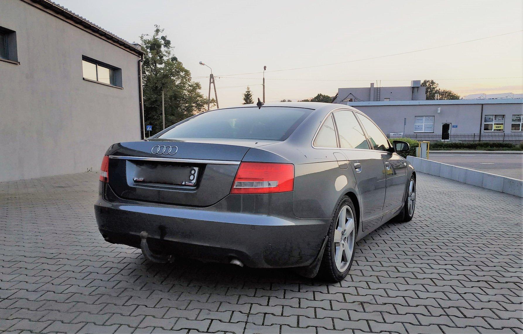 Audi A6 C6 3.0TDI 224KM >> 266KM 633Nm