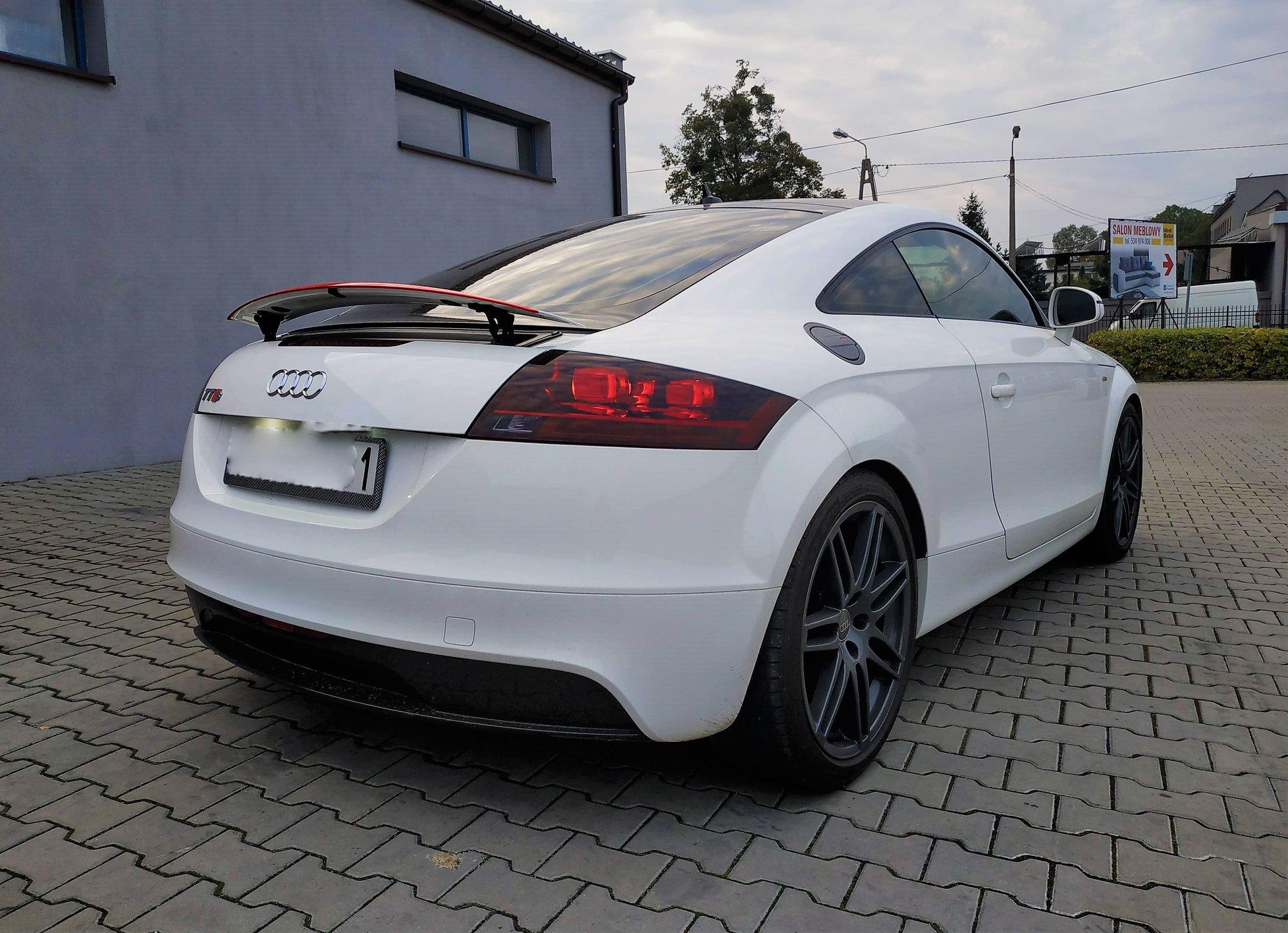 Audi TT 8J BWA 200KM >> 258KM 392Nm