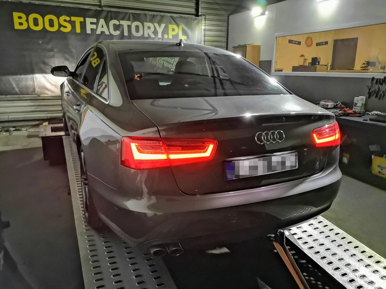 Audi A6 C7 2.0TDI CGLD 163KM >> 211.7KM 438Nm