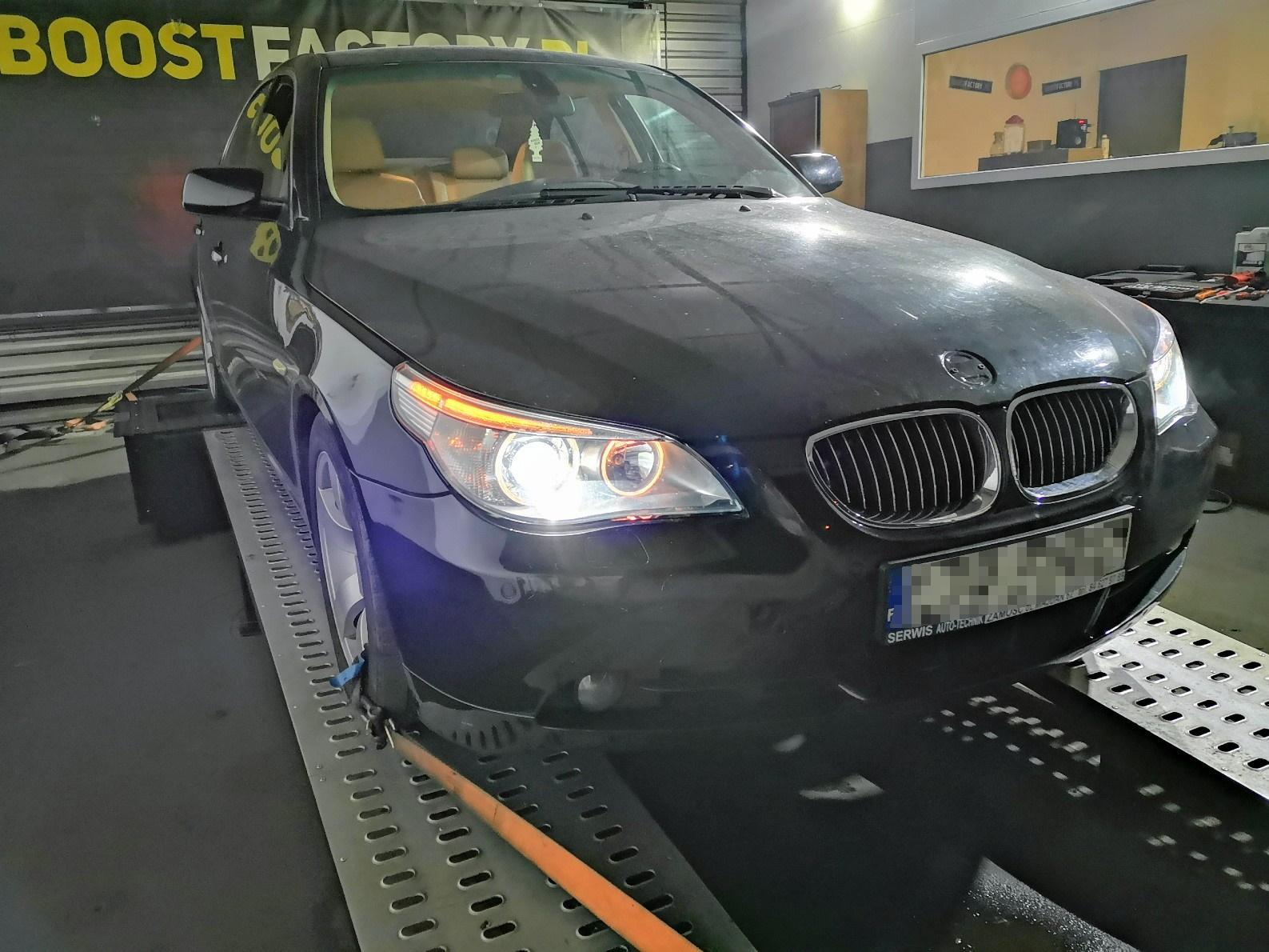 BMW E60 535D 272KM >> 342KM 683Nm