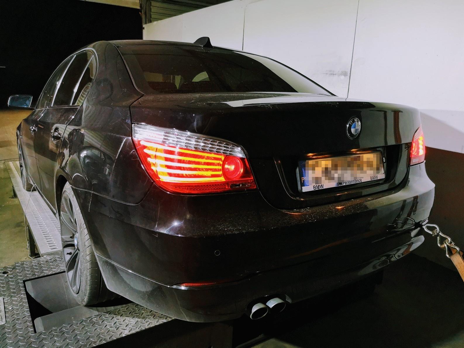 BMW E60 525D 197KM >> 255KM 522Nm