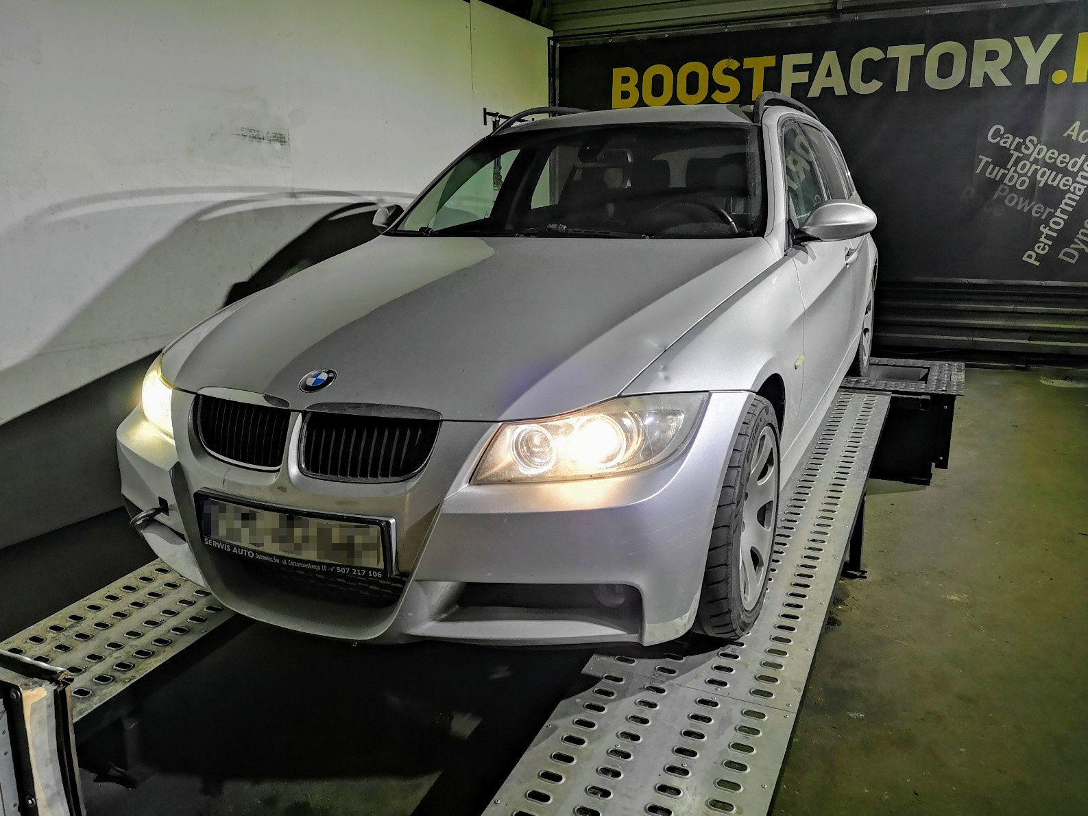 BMW E91 325D 197KM >> 367KM 756Nm