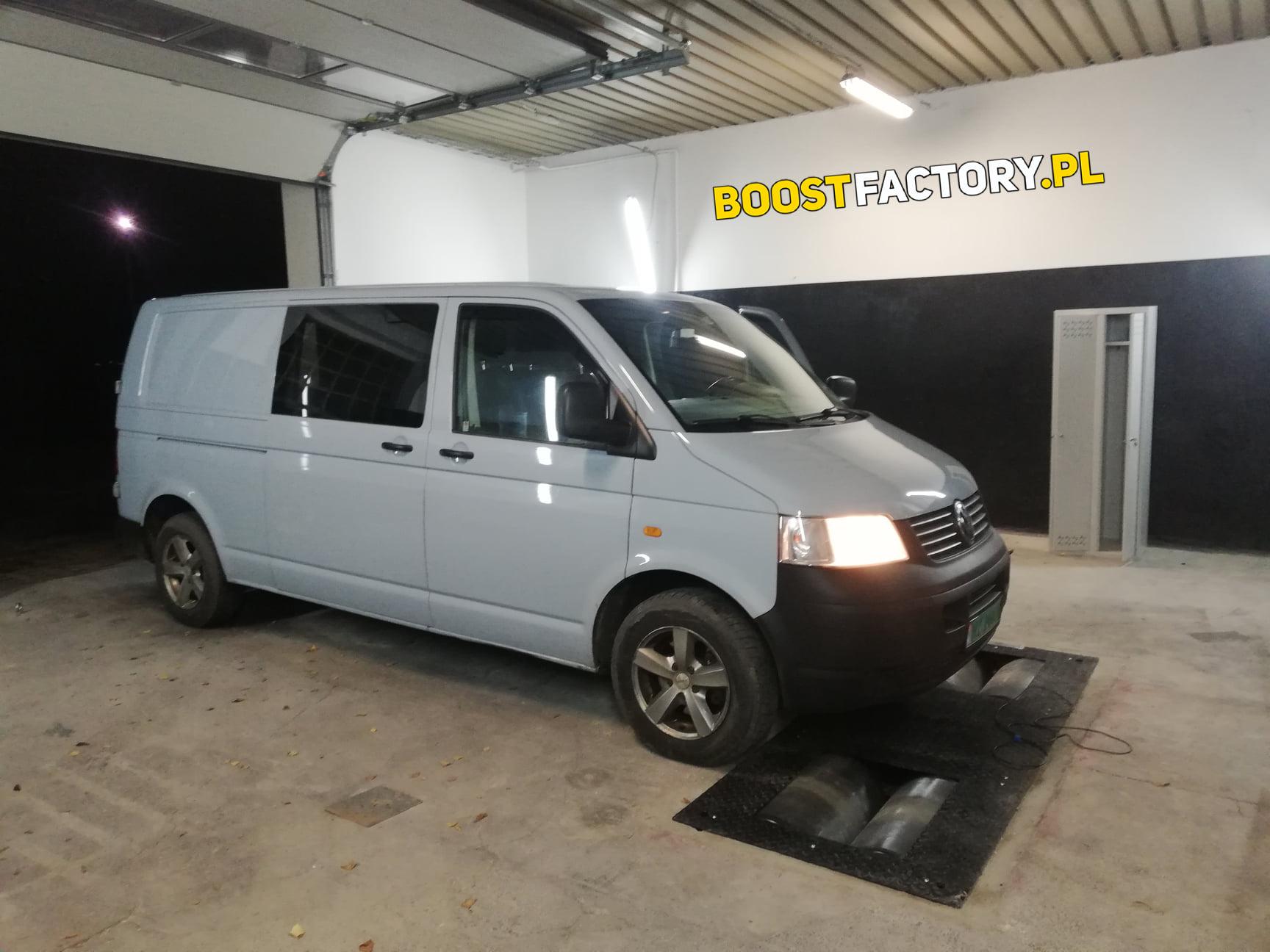 VW Transporter T5 2.5TDI 131KM >> 173KM 423Nm
