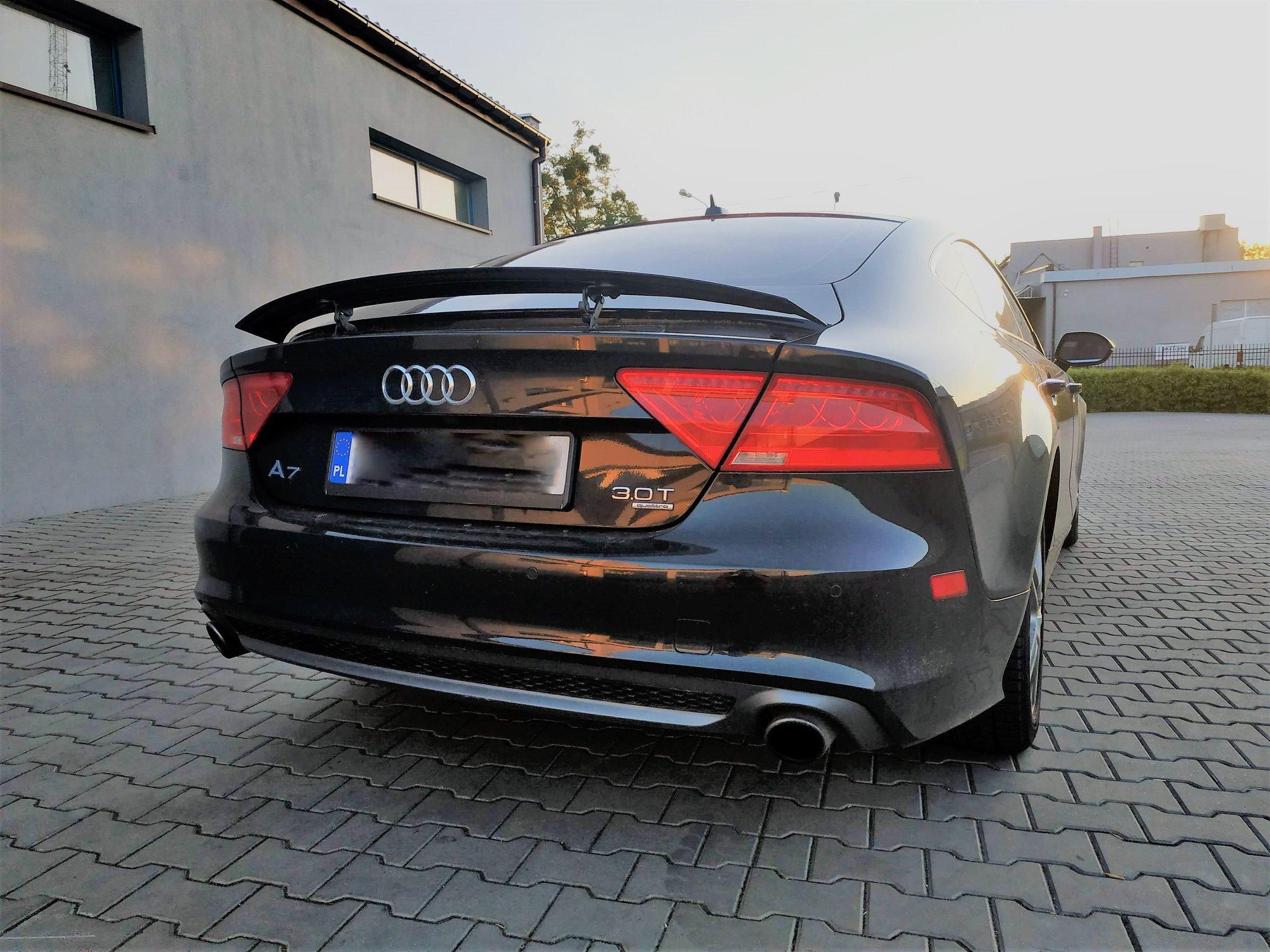 Audi A7 4G 3.0TFSI Stage2 310KM >> 439KM 562Nm