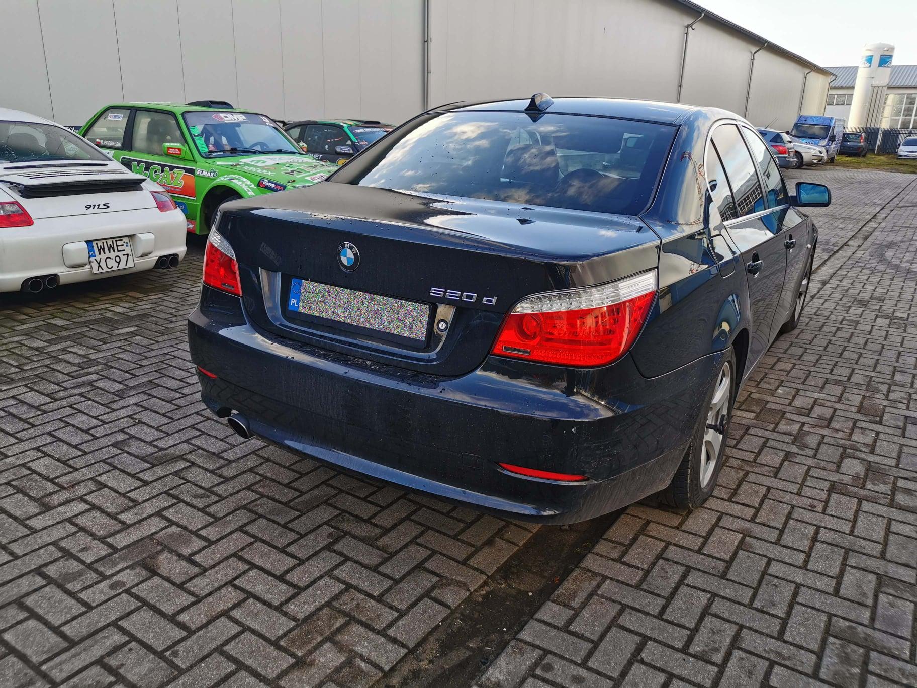 BMW E60 520D 177KM >> 214KM 457Nm