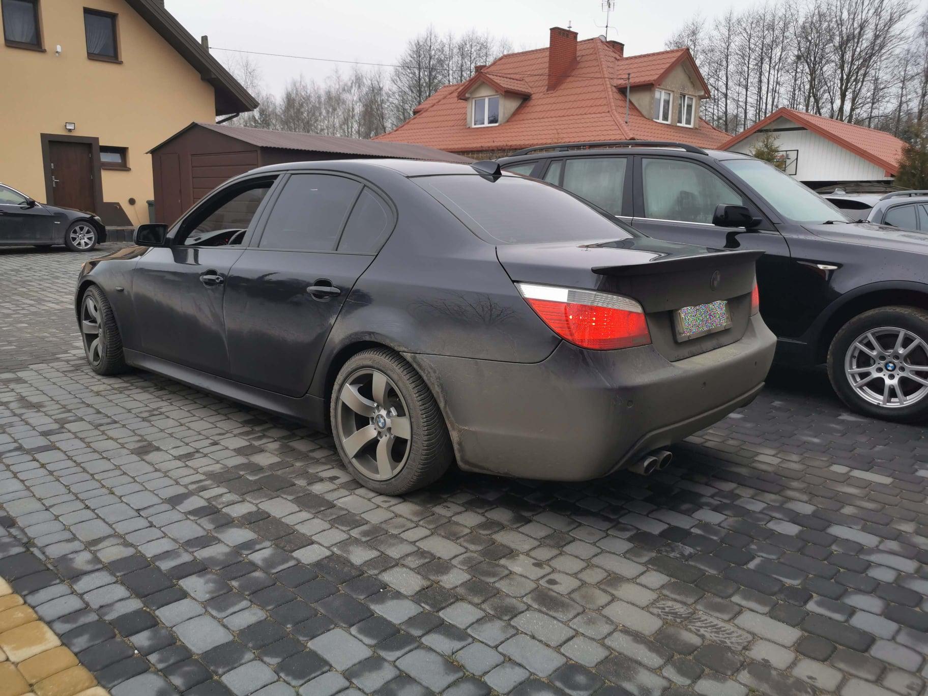 BMW E60 535D 272KM >> 356KM 724Nm