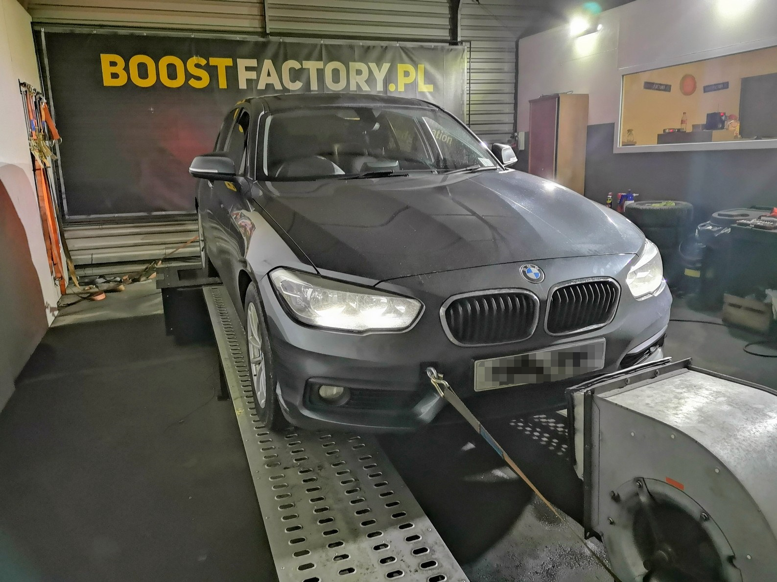 BMW F20 118D B47 150KM >> 184KM 405Nm