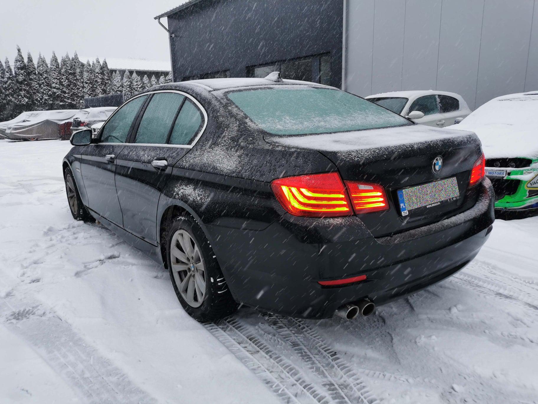 BMW F10 530D 258KM >> 300KM 618Nm
