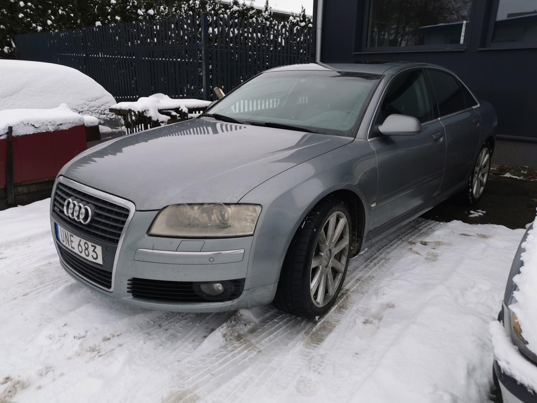 Audi A8 D3 4.2 TDI 326KM >> 356KM 870Nm