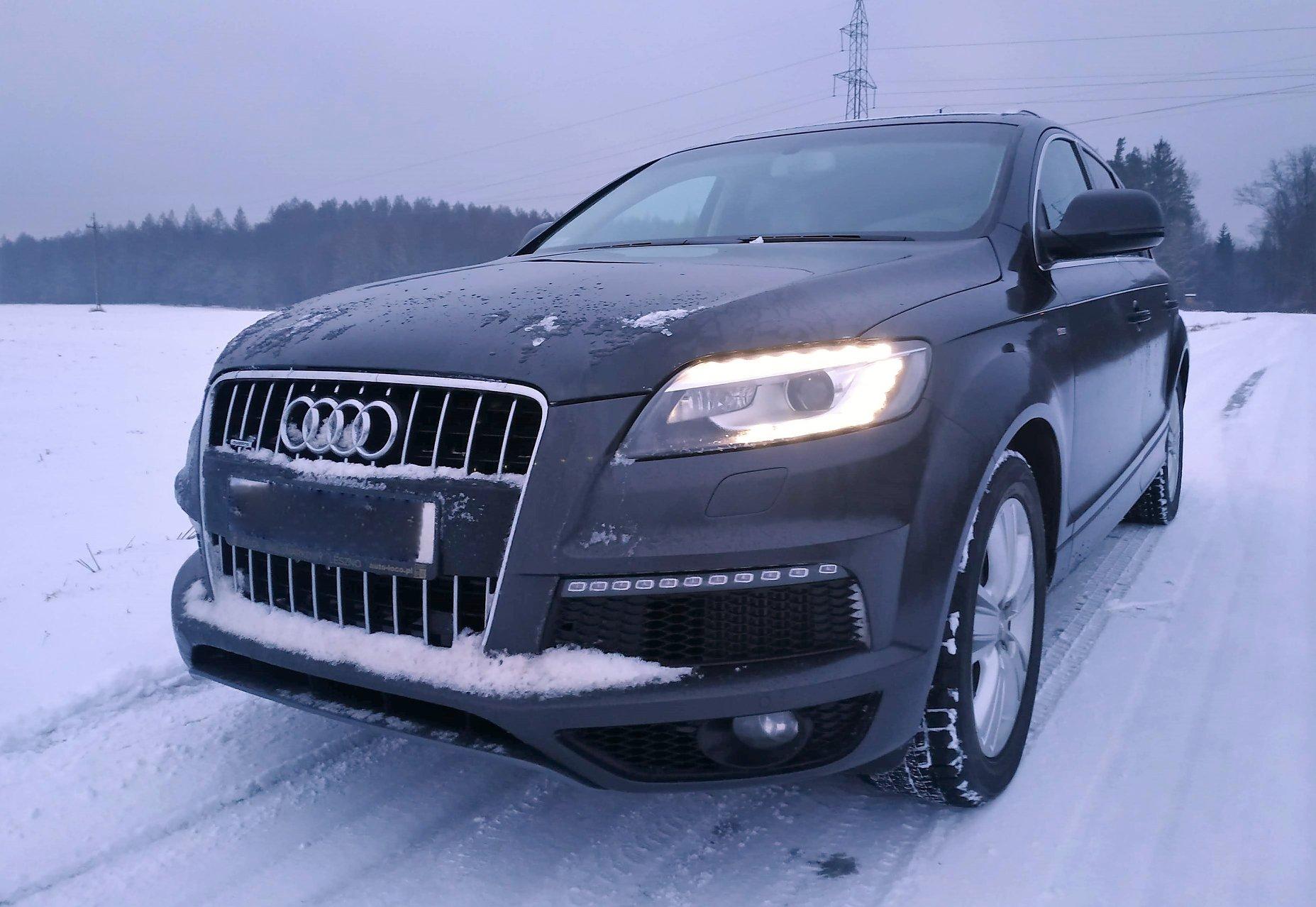 Audi Q7 4L 3.0TDI CRCA 245KM >> 293KM 640Nm