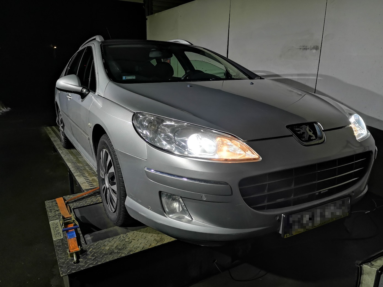 Peugeot 407 1.6HDI 110KM >> 134KM 305Nm