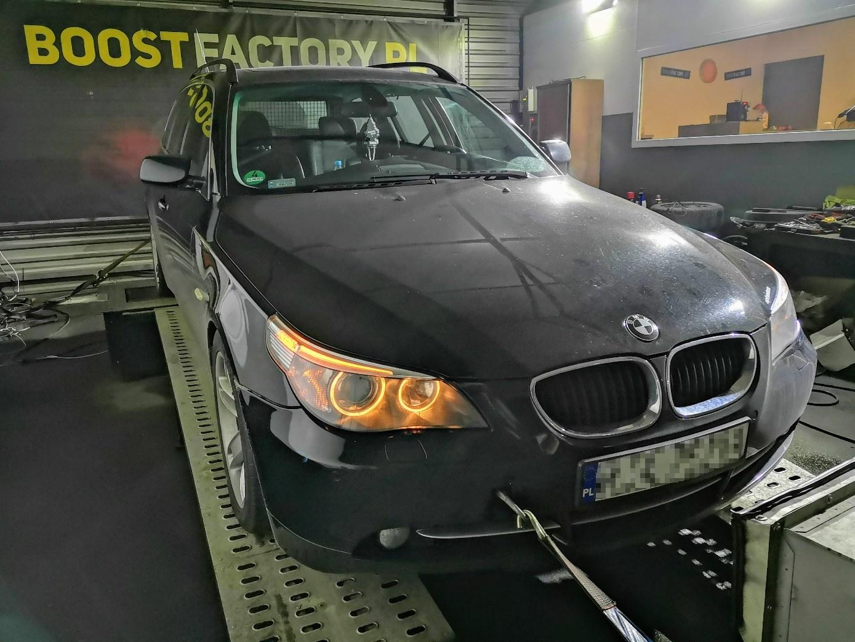 BMW E61 525D 177KM >> 235KM 522Nm
