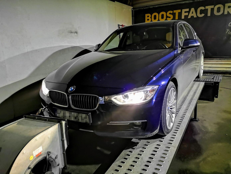 BMW F30 335i N55 306KM >> 381KM 562Nm