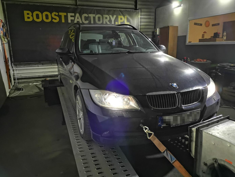 BMW E91 325D 197KM >> 267KM 585Nm