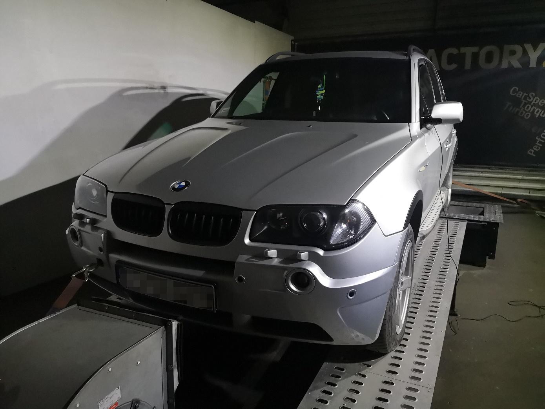BMW X3 E83 2.0D 150KM >> 193KM 421Nm