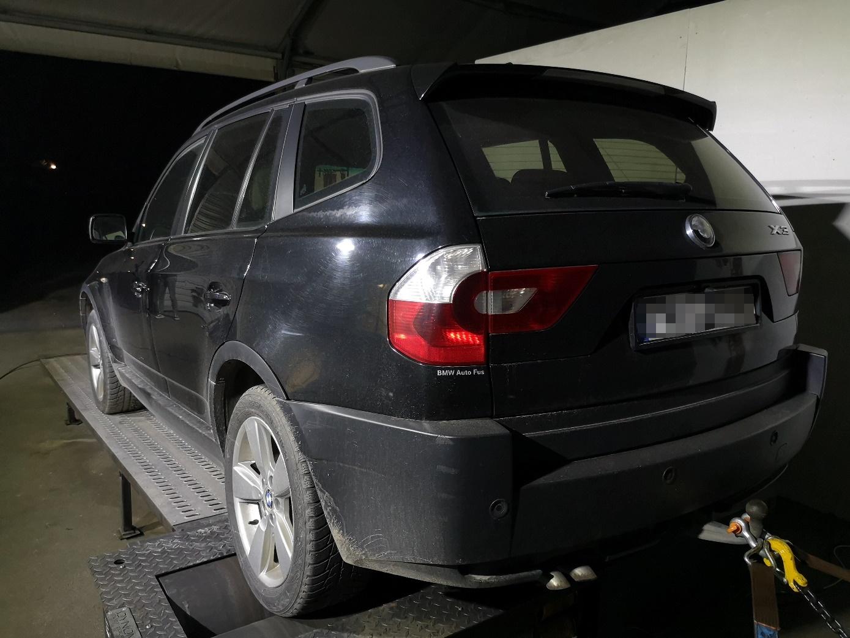 BMW X3 E83 3.0D 204KM >> 261KM 561Nm