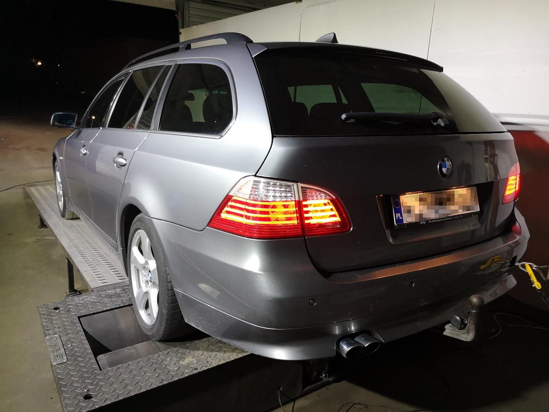 BMW E61 530XD 235KM >> 312KM 689Nm