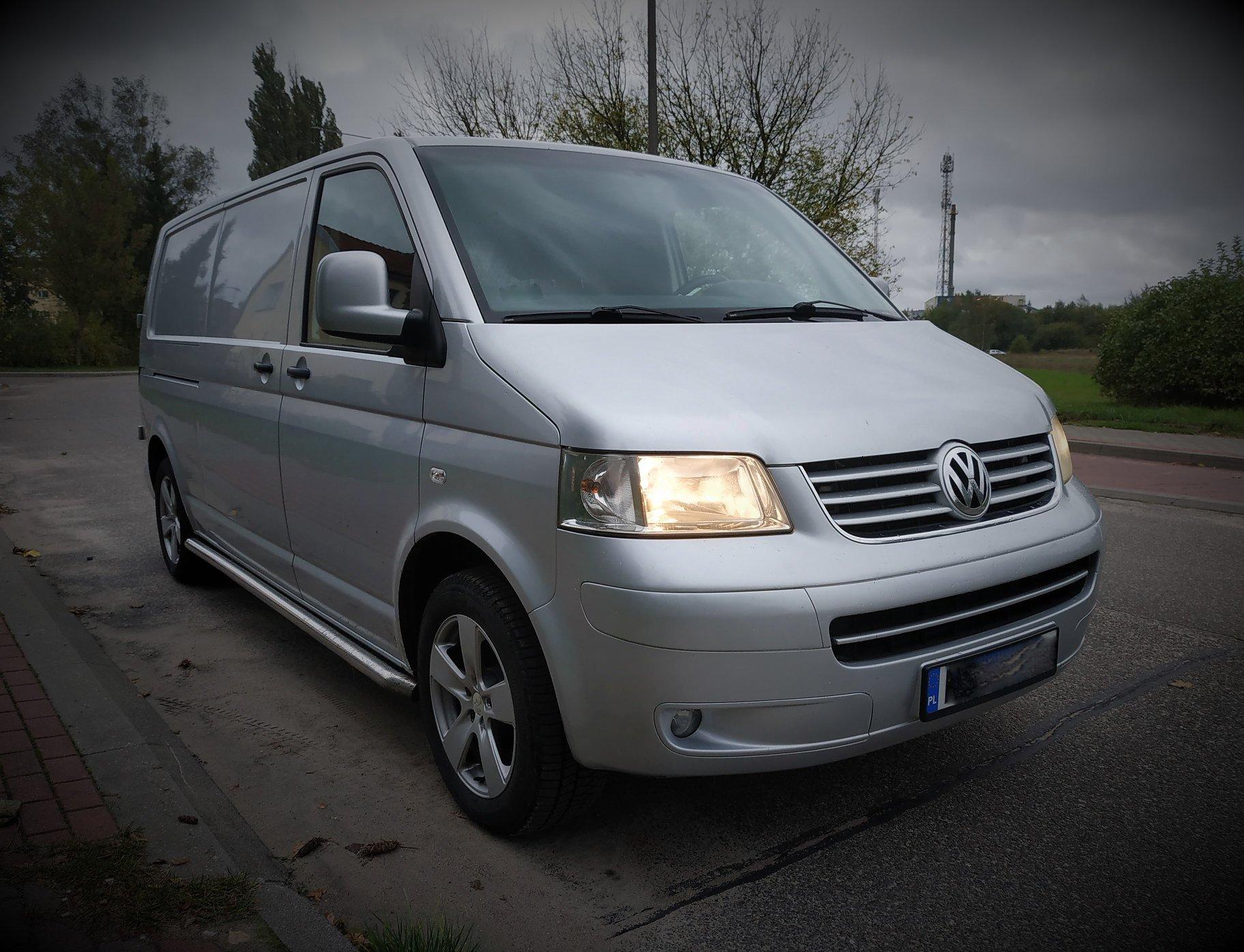 VW Transporter T5 2.5TDI 130KM >> 180KM 429Nm