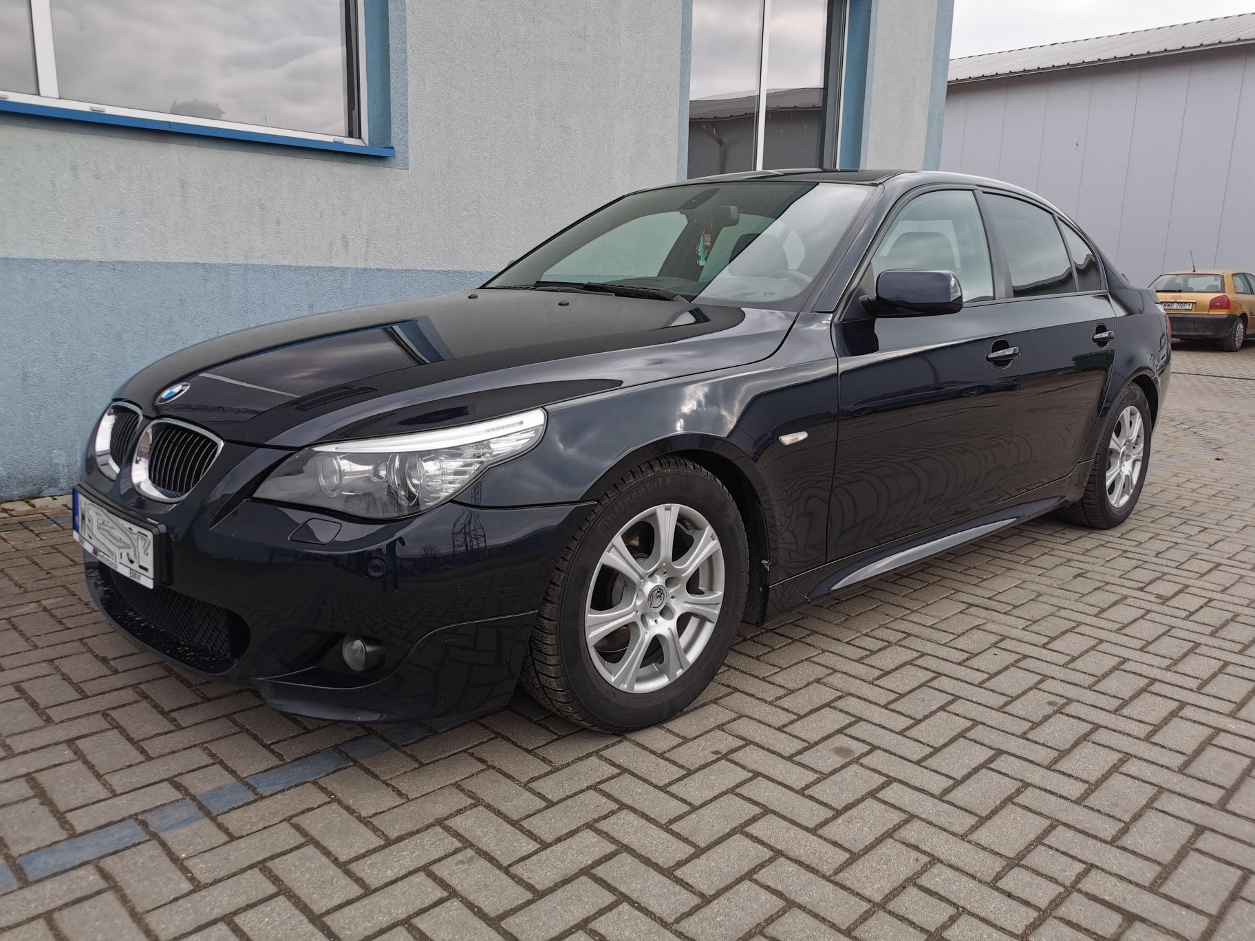 BMW E60 530D 235KM >> 301KM 667Nm