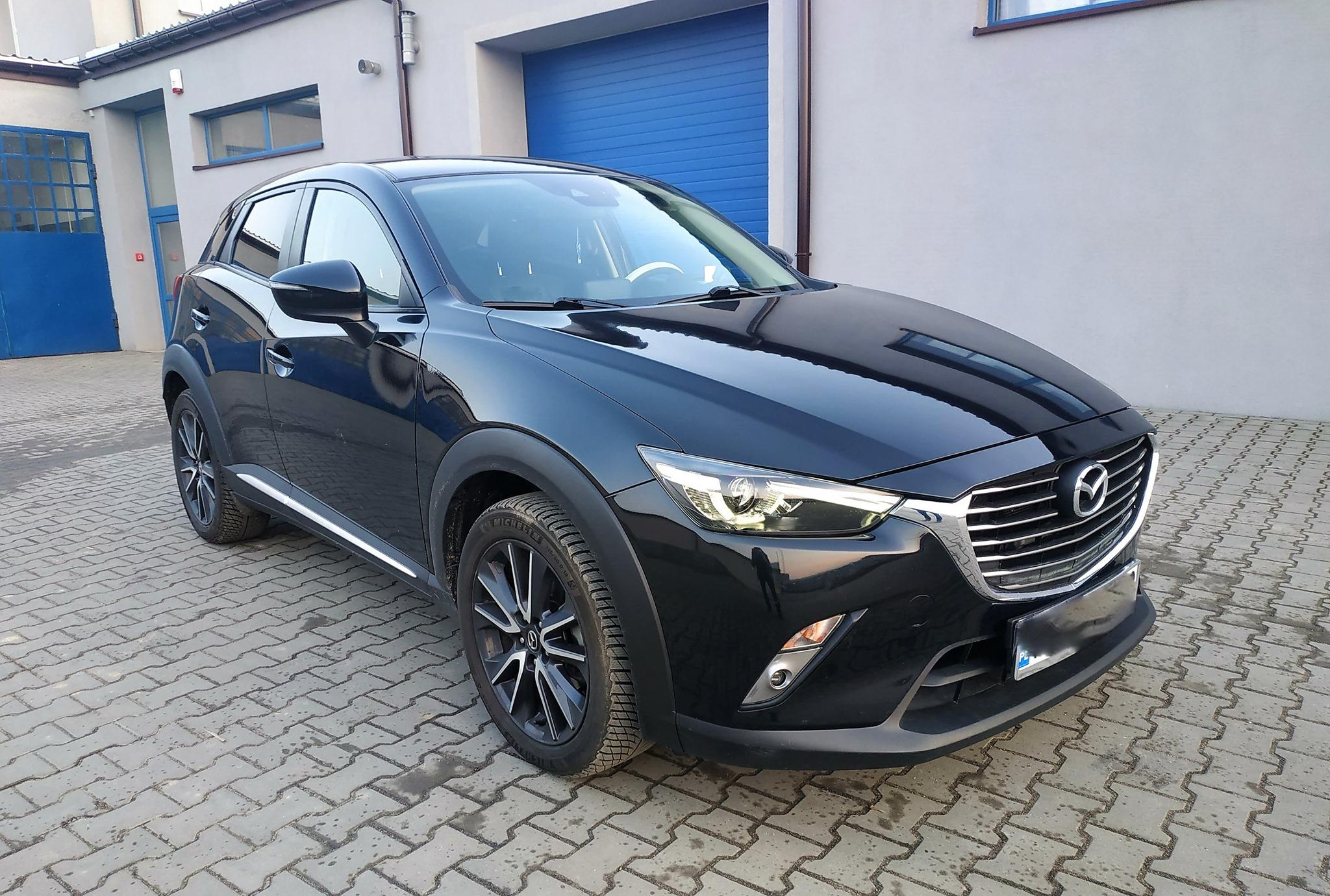 Mazda CX-3 2.0 SkyActiv-G 120KM >> 167KM 207Nm