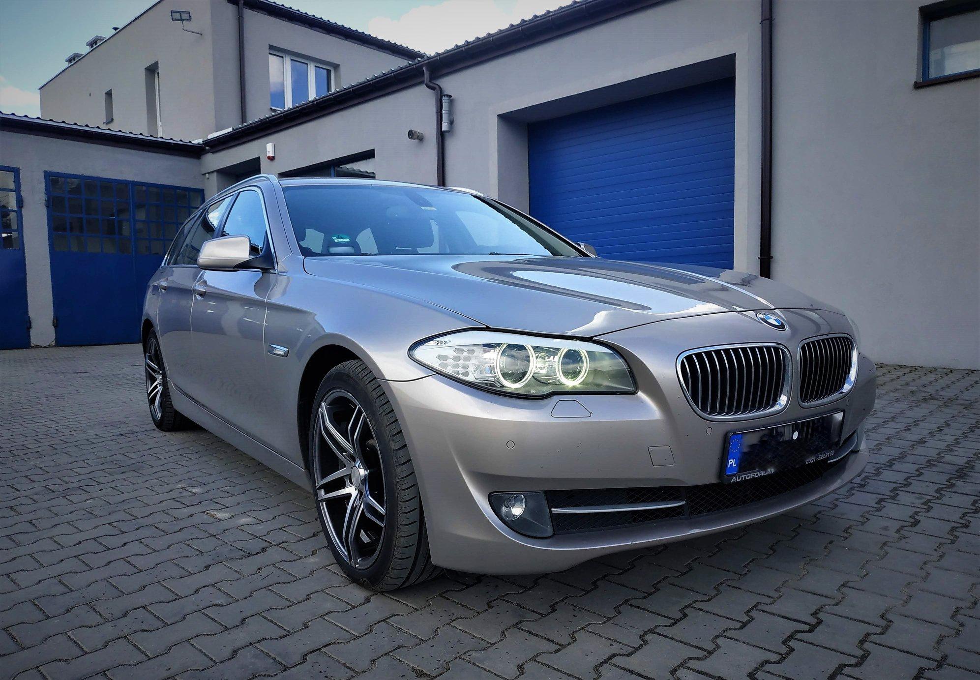 BMW F11 530XD 258KM >> 315KM 650Nm