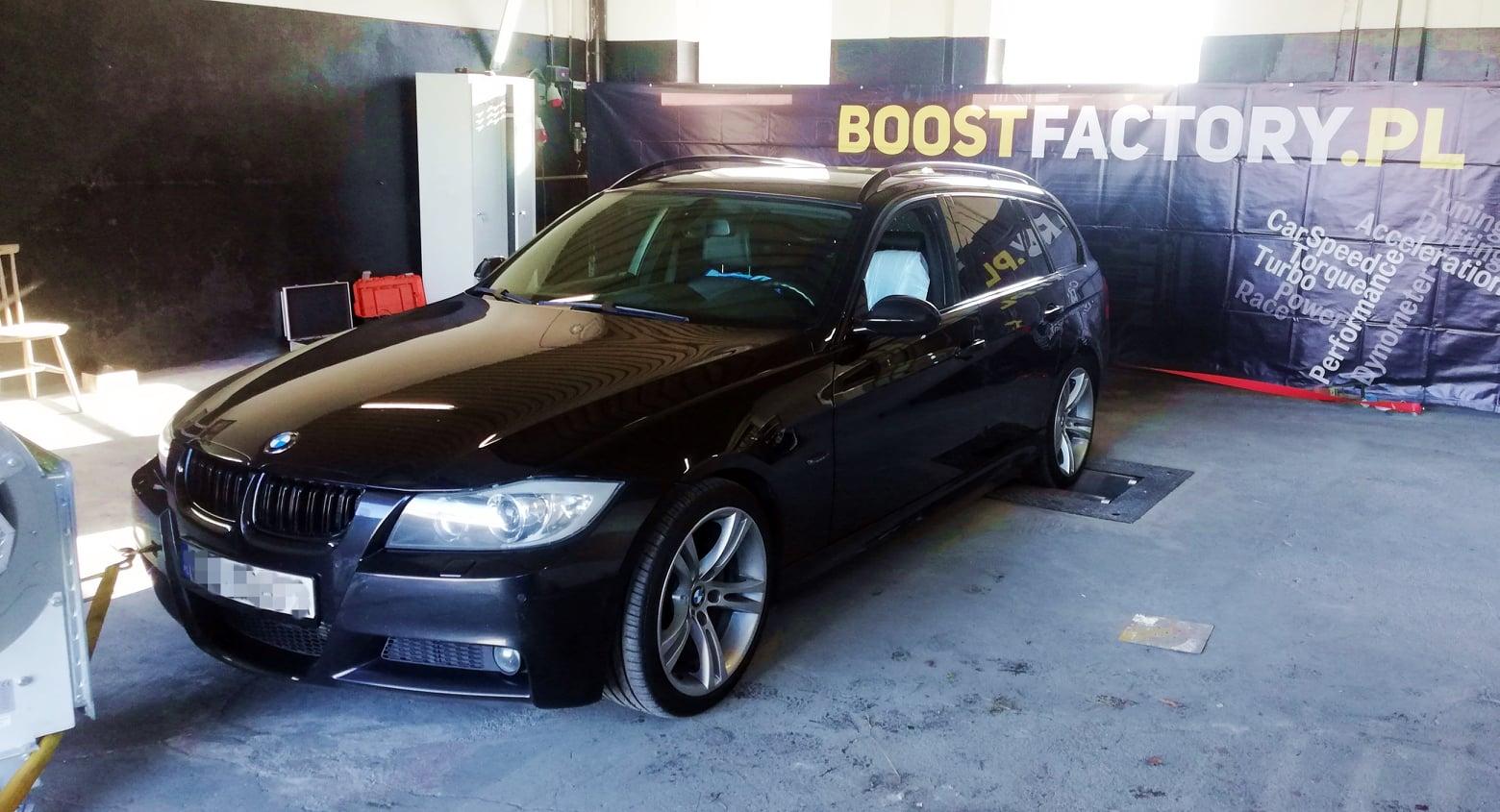 BMW E91 320D 184KM >> 229KM 493Nm