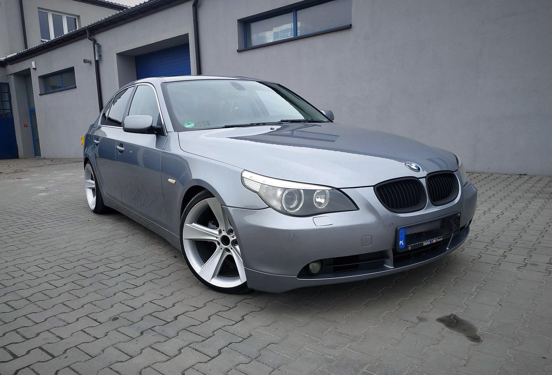 BMW E60 525D 177KM >> 223KM 549Nm