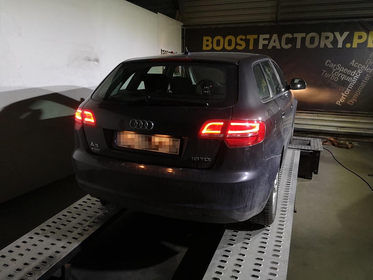 Audi A3 8P 1.6TDI 105KM >> 147KM 313Nm