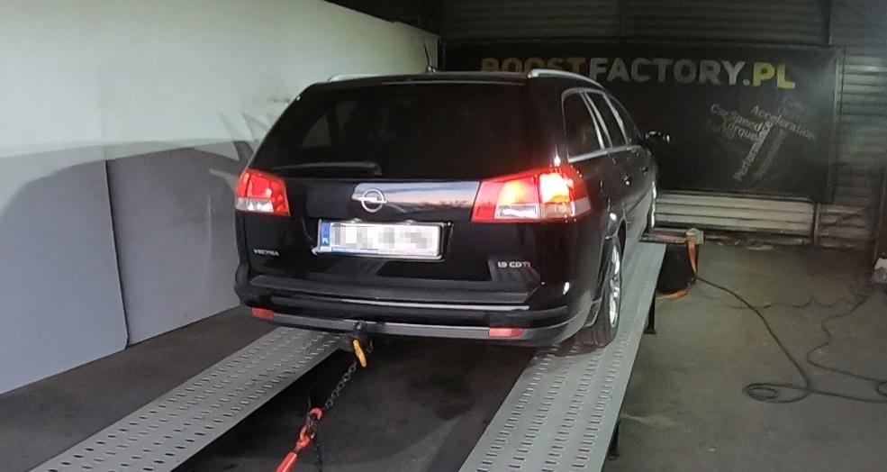 Opel Vectra 1.9CDTI 150KM >> 182KM 422Nm