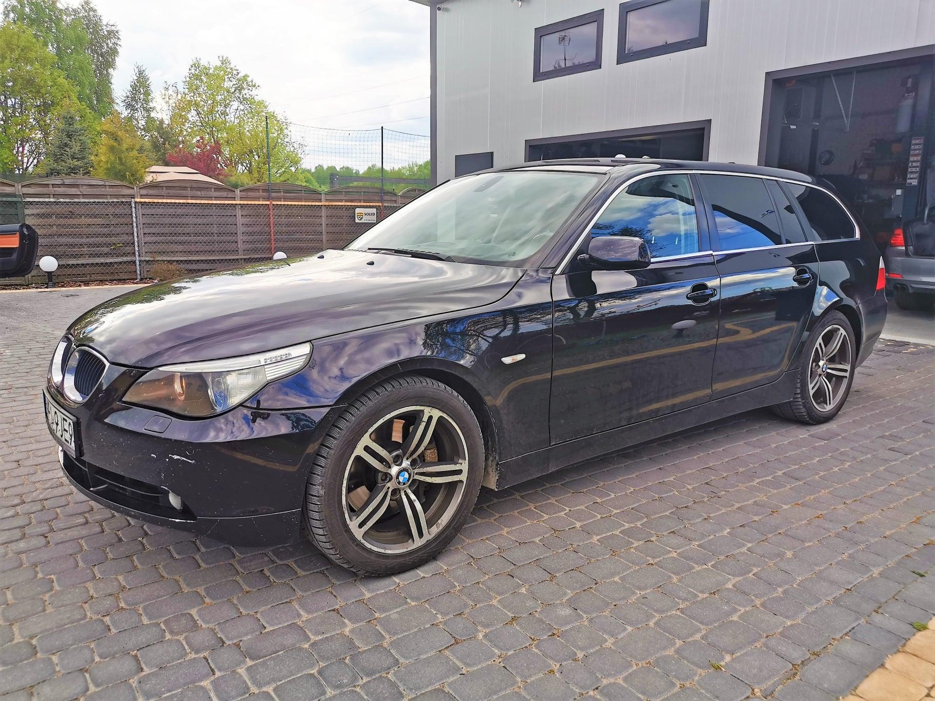 BMW E61 535D 272KM >> 354KM 706Nm