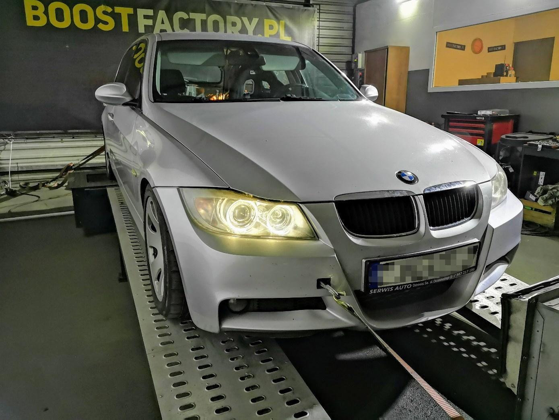 BMW E91 325D 197KM >> 382KM 817Nm