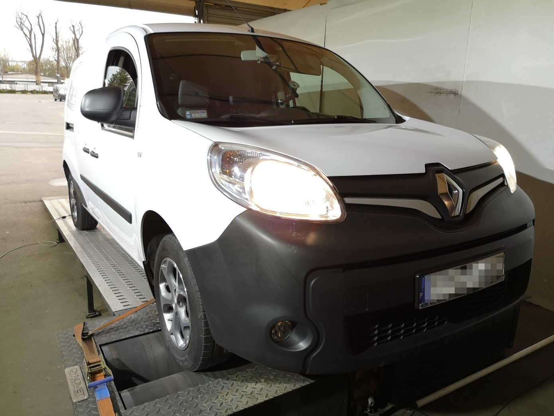 Renault Kangoo 1.5dCi 115KM >> 132KM 303Nm