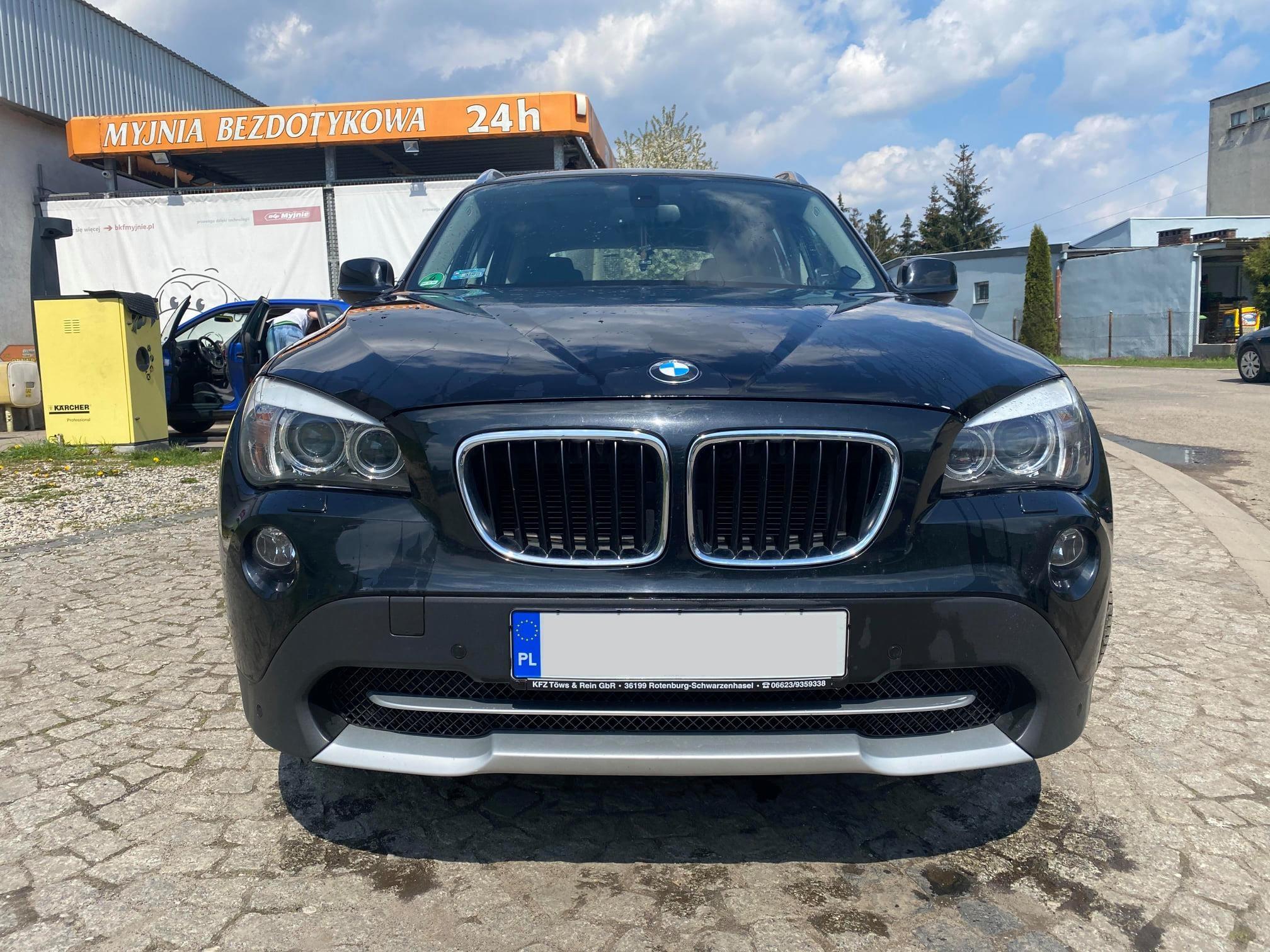 BMW X1 E84 18D 143KM >> 186KM 425Nm