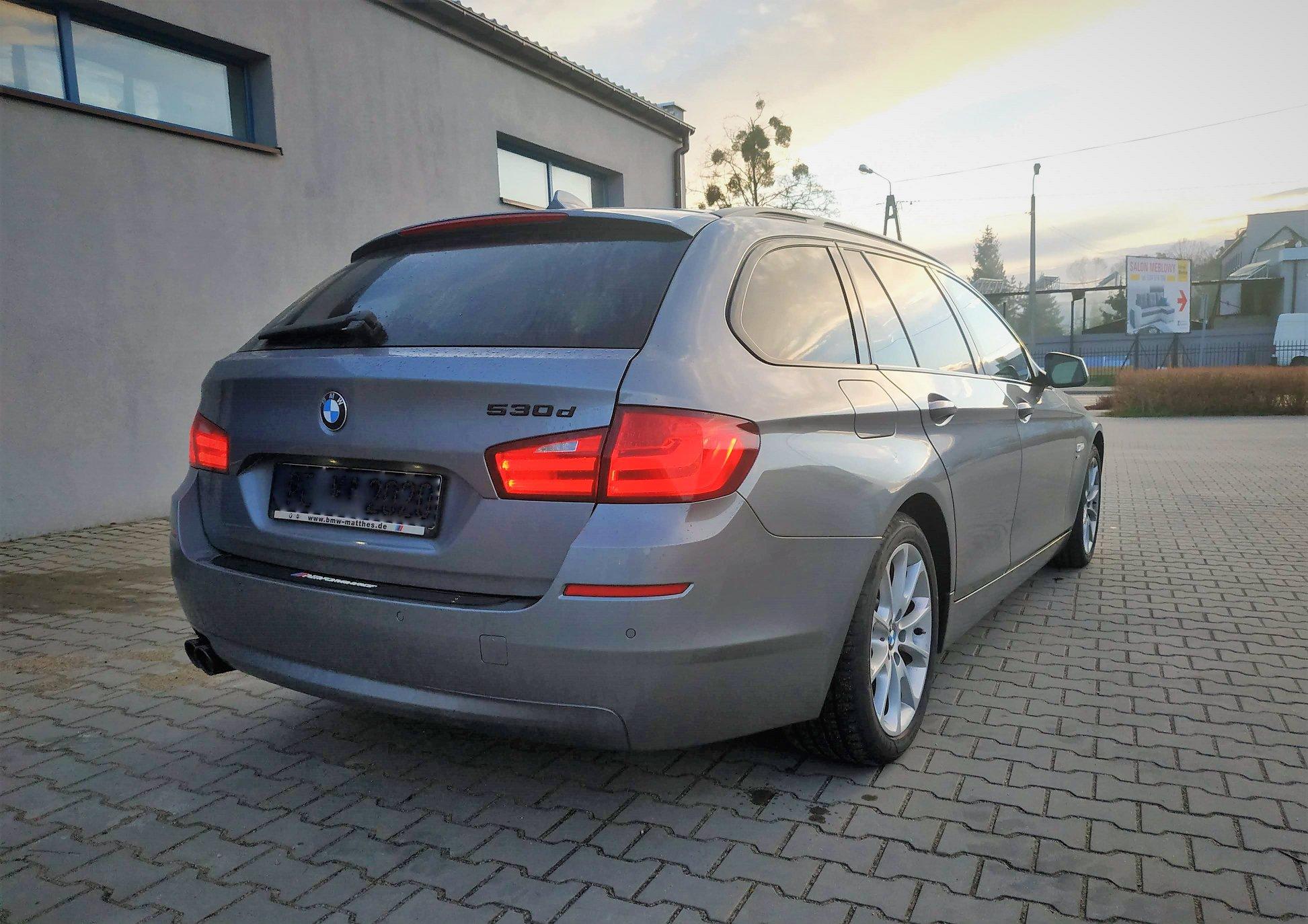 BMW F11 530D 258KM >> 324KM 671Nm