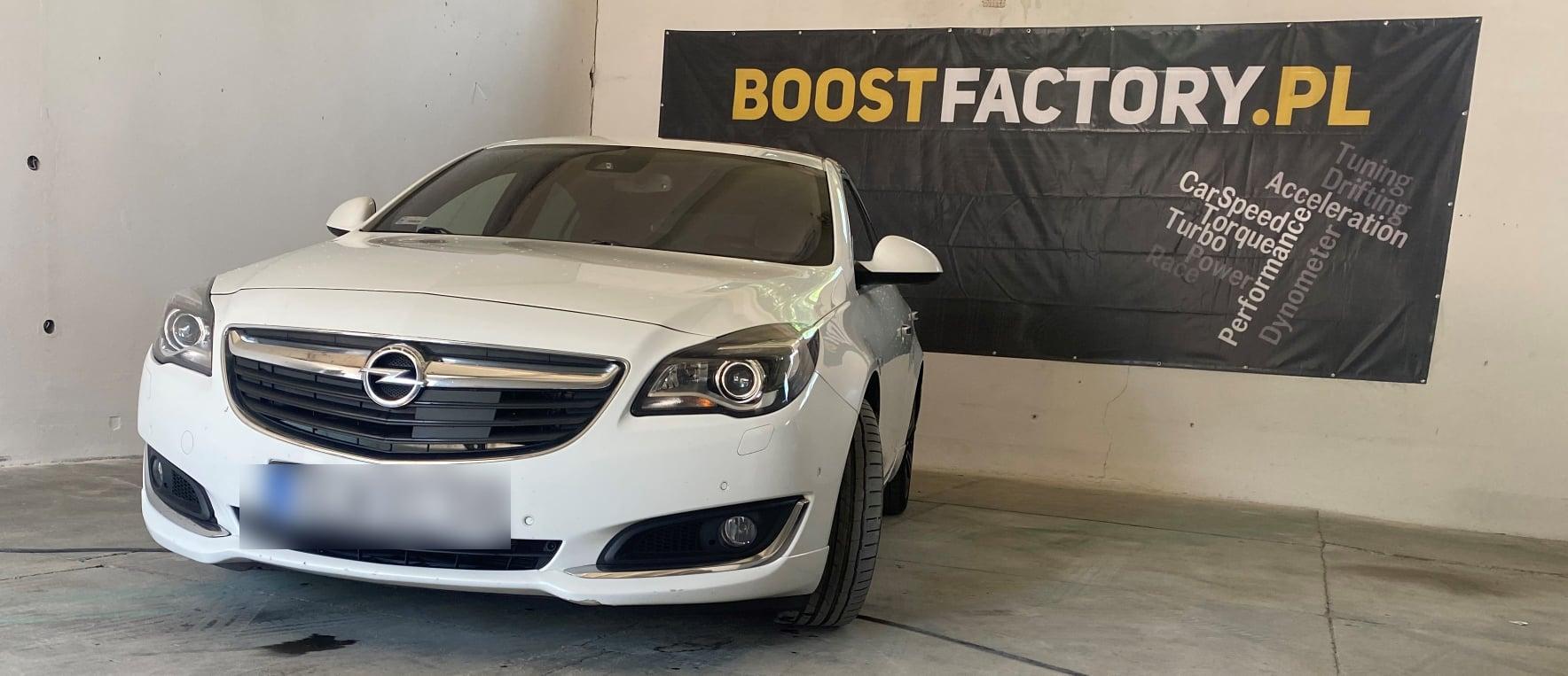 Opel Insignia 2.0CDTI 130KM >> 190KM 433Nm