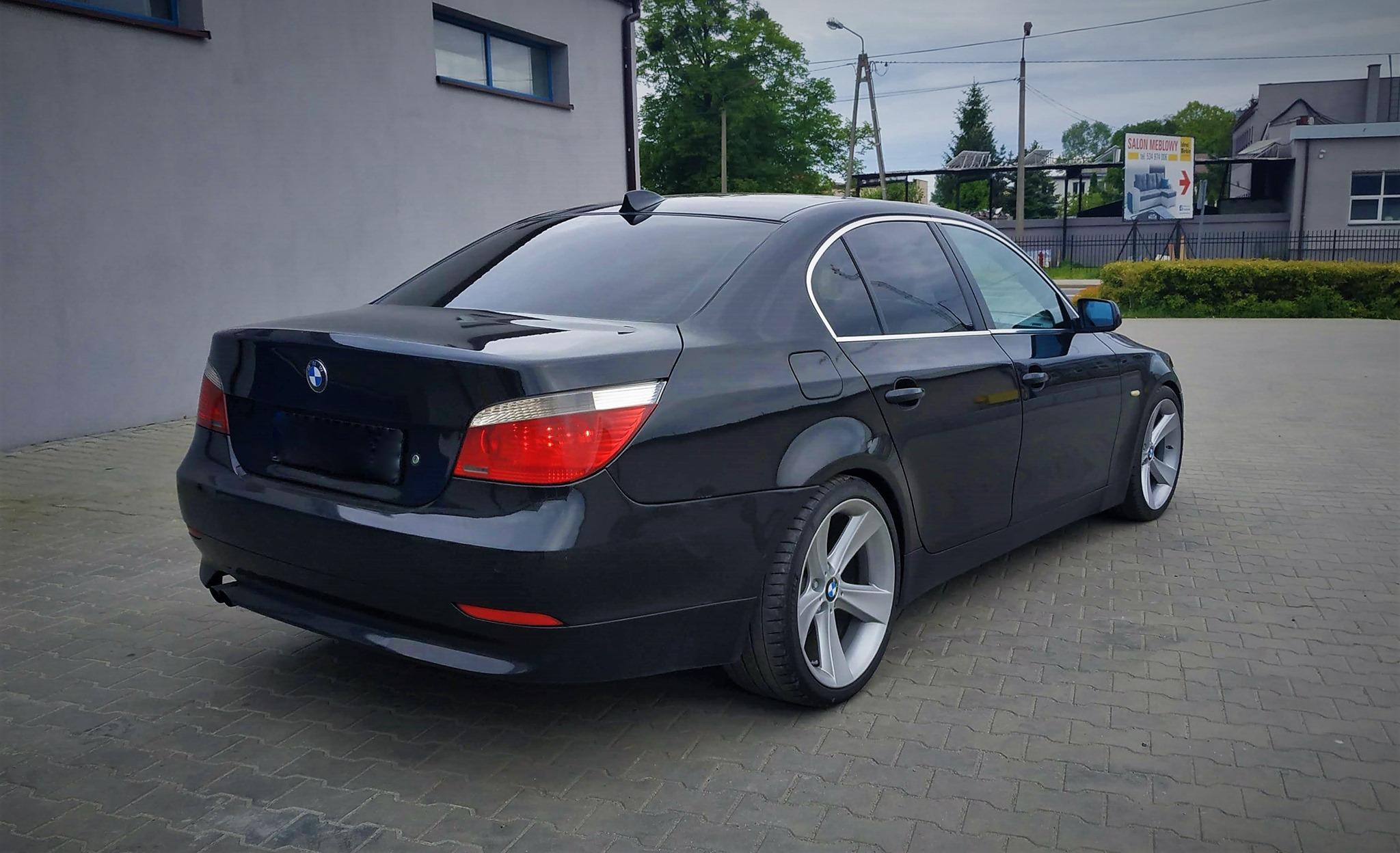 BMW E60 530D 235KM >> 352Nm 705Nm