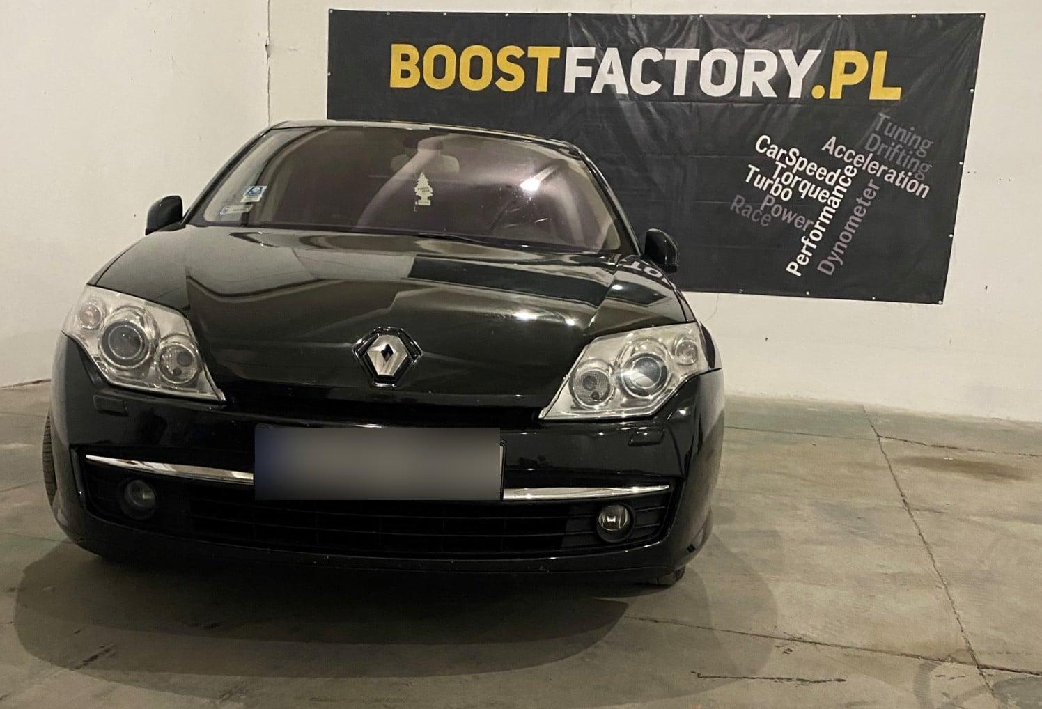 Renault Laguna III 2.0 dCi 150KM >> 174KM 417Nm